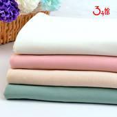 针织雪纺 纯涤纶 超薄春夏针织面料 女装服装窗帘布料 厂家直销