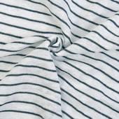 針織麻棉間條 時尚細條紋  小清新風 夏季T恤服裝面料