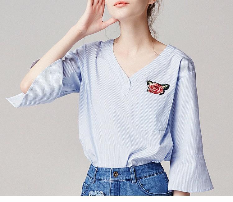 细条纹格子衬衫