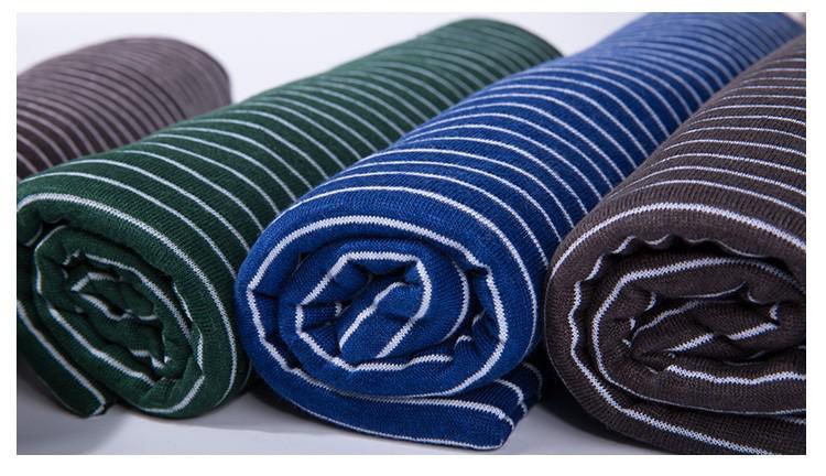 棉麻色织条纹布料