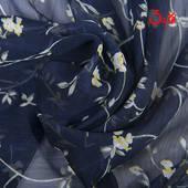 碎花雪纺天丝皱布料田园印花日系春夏连衣裙半身裙丝巾高档面料