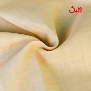 60S苎麻棉素色麻布 棉麻中国风唐装禅服服装面料