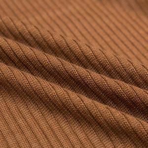 天丝羊绒不易起球坑条面料薄毛衣布料毛线针织打底衫秋冬服装面料